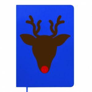 Notepad Christmas deer