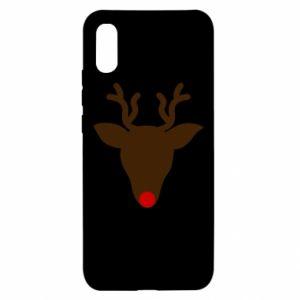 Etui na Xiaomi Redmi 9a Christmas deer