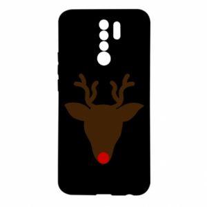 Etui na Xiaomi Redmi 9 Christmas deer