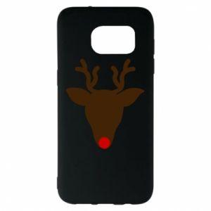Etui na Samsung S7 EDGE Christmas deer