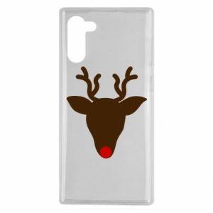 Etui na Samsung Note 10 Christmas deer