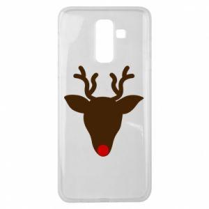 Etui na Samsung J8 2018 Christmas deer