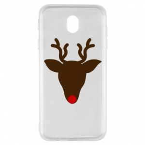 Etui na Samsung J7 2017 Christmas deer