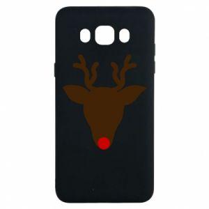 Etui na Samsung J7 2016 Christmas deer