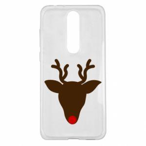 Etui na Nokia 5.1 Plus Christmas deer