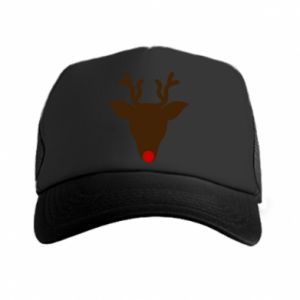 Czapka trucker Christmas deer