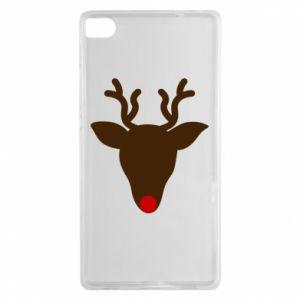 Etui na Huawei P8 Christmas deer