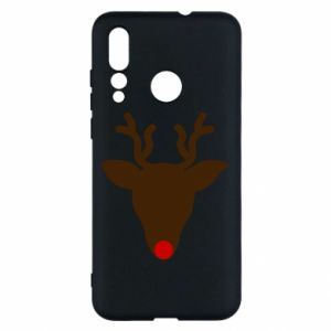 Etui na Huawei Nova 4 Christmas deer