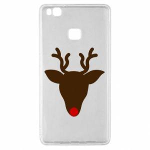 Etui na Huawei P9 Lite Christmas deer