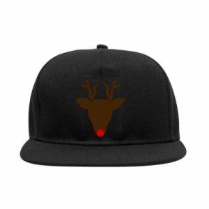 SnapBack Christmas deer