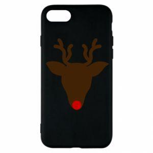 Etui na iPhone SE 2020 Christmas deer