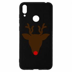 Etui na Huawei Y7 2019 Christmas deer