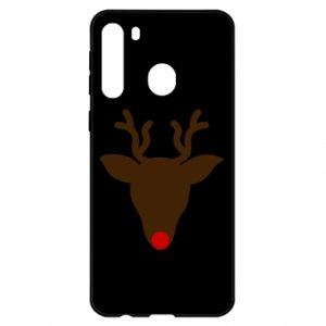 Etui na Samsung A21 Christmas deer