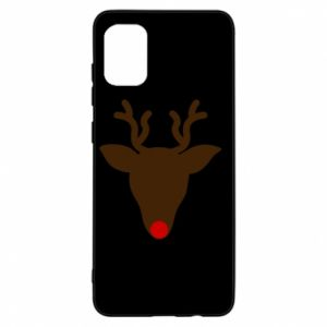 Etui na Samsung A31 Christmas deer