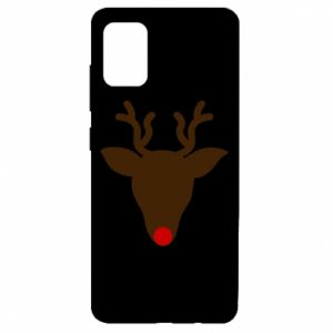 Etui na Samsung A51 Christmas deer