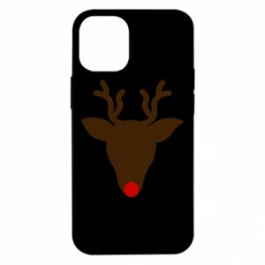Etui na iPhone 12 Mini Christmas deer