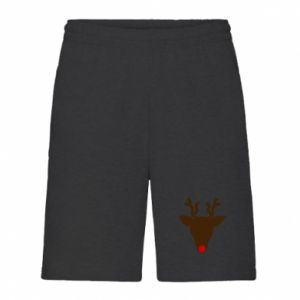 Men's shorts Christmas deer