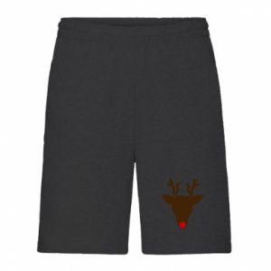 Męskie szorty Christmas deer