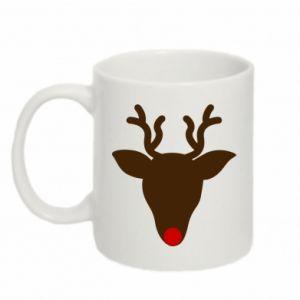Kubek 330ml Christmas deer