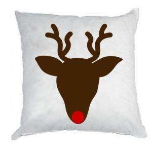Pillow Christmas deer