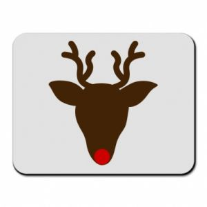 Mouse pad Christmas deer