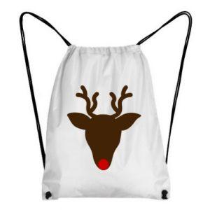 Backpack-bag Christmas deer