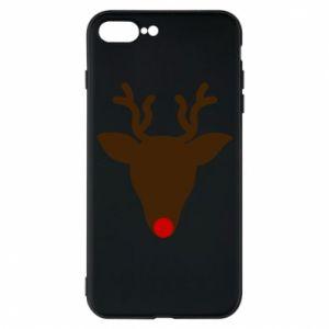 Etui na iPhone 7 Plus Christmas deer