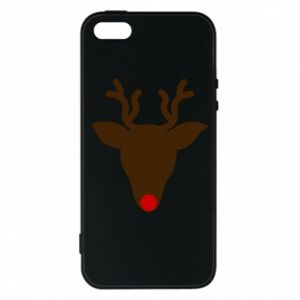 Phone case for iPhone 5/5S/SE Christmas deer