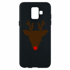 Phone case for Samsung A6 2018 Christmas deer