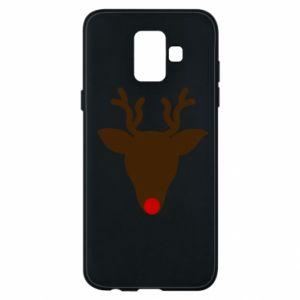 Etui na Samsung A6 2018 Christmas deer