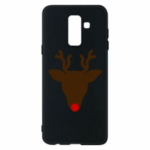 Phone case for Samsung A6+ 2018 Christmas deer