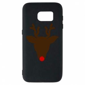 Etui na Samsung S7 Christmas deer