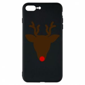 Phone case for iPhone 8 Plus Christmas deer