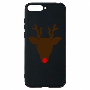 Phone case for Huawei Y6 2018 Christmas deer