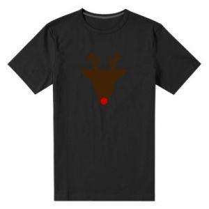 Męska premium koszulka Christmas deer