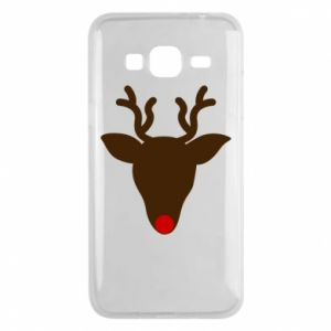 Phone case for Samsung J3 2016 Christmas deer