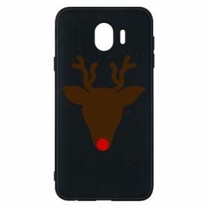 Phone case for Samsung J4 Christmas deer