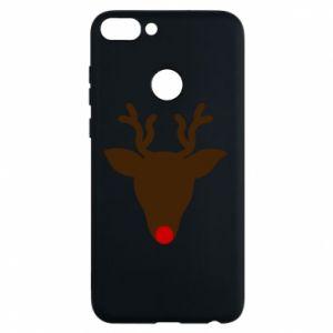 Etui na Huawei P Smart Christmas deer