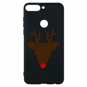 Phone case for Huawei Y7 Prime 2018 Christmas deer