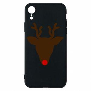 Etui na iPhone XR Christmas deer