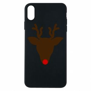 Etui na iPhone Xs Max Christmas deer