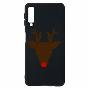 Etui na Samsung A7 2018 Christmas deer
