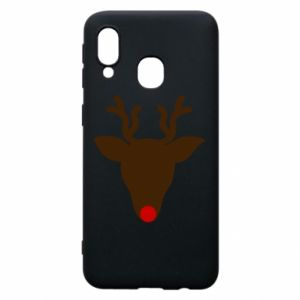 Phone case for Samsung A40 Christmas deer