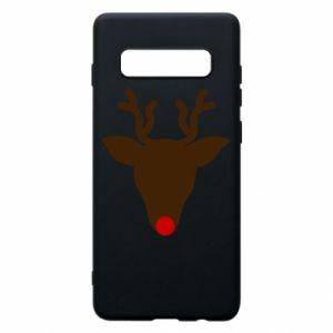 Etui na Samsung S10+ Christmas deer
