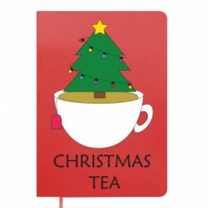Notepad Christmas tea