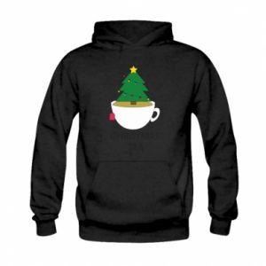 Kid's hoodie Christmas tea