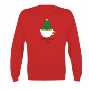 Kid's sweatshirt Christmas tea
