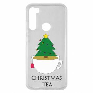 Xiaomi Redmi Note 8 Case Christmas tea
