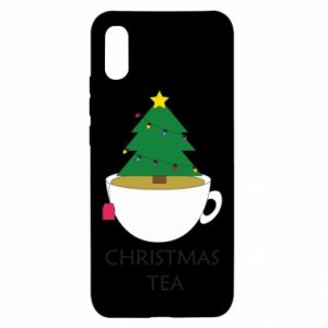 Xiaomi Redmi 9a Case Christmas tea