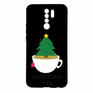 Xiaomi Redmi 9 Case Christmas tea